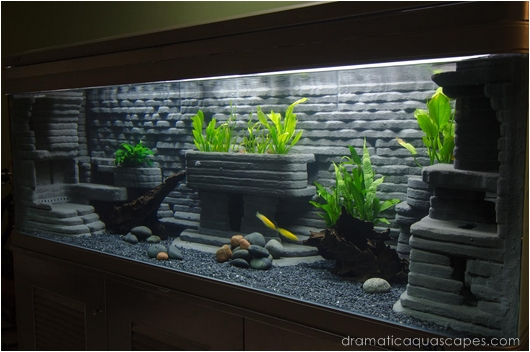 Aquarium decorations diy diy aquarium decoration slate for Aquarium decoration diy
