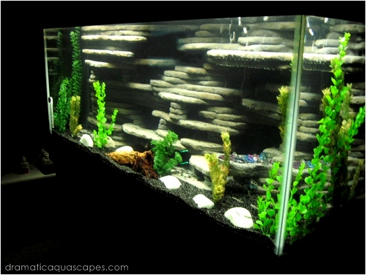 75 gallon aquarium background dramatic aquascapes diy for 55 gallon aquarium decoration ideas